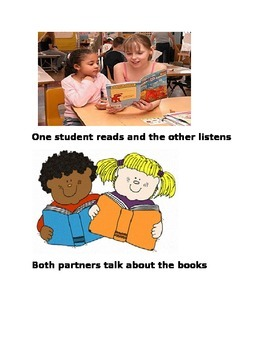 Partner Reading Picture Cards