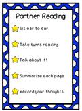 Partner Reading Poster
