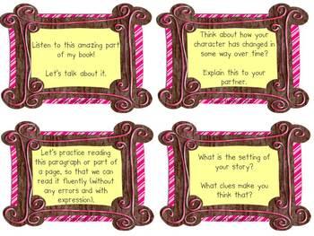 Partner Reading Response Cards
