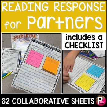 Partner Reading Response Sheets