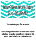 Partner Reading Rubric