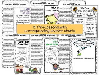 Partner Reading {Set 2}: Lesson Plans for Growing Ideas