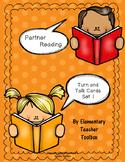 Partner Reading Turn and Talk Cards Set 1