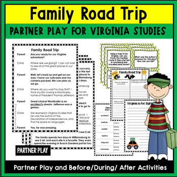 Partner Play:  Family Road Trip (Virginia Tourism)