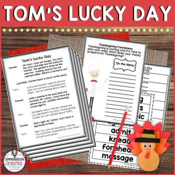 Partner Play for Thanksgiving: Tom's Lucky Day