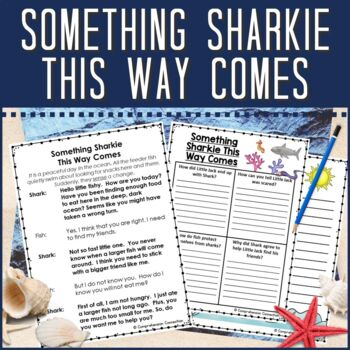 Partner Play:  Something Sharkie This Way Comes