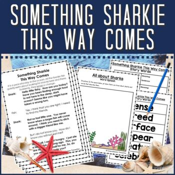 Partner Script:  Sharks and Oceanography