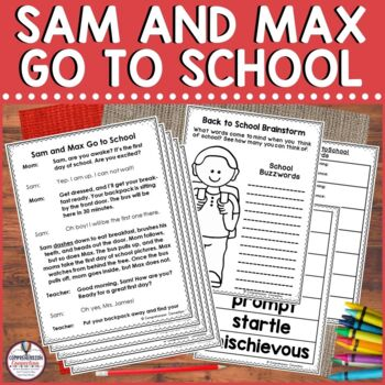 Partner Play: Sam and Max Go To School