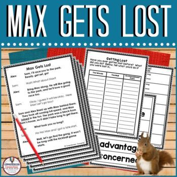 Partner Play: Max Gets Lost