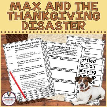 Partner Play: Max and the Thanksgiving Disaster