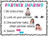 Partner Sharing Anchor Chart