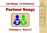 Partner Songs Vol 1- Part 1