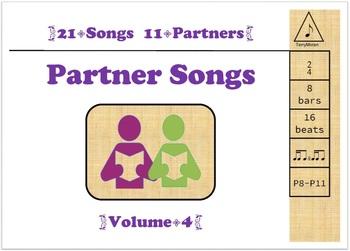 Partner Songs Vol 4 - ♪♬ and ♬♪ (ti-tika/tika-ti)