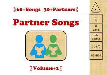 Partner Songs Volume 1