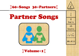 Partner Songs Volume 1