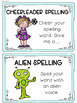 Partner Spelling Word Work Activities for ANY Words