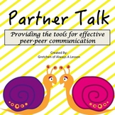 Student Peer Discussions: Partner Talk