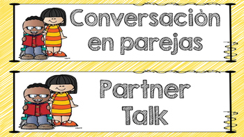 Partner Talk - Bilingual