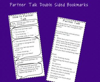 Partner Talk Bookmarks