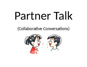 Partner Talk Poster