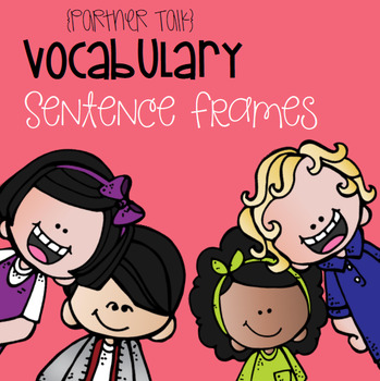 Vocabulary Sentence Frames for Reading Wonders 1st grade