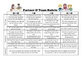 Partner & Team Rubric