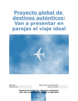 Project Sp1 - Travel Partners: Simulation to Spanish-Speaking Destinations