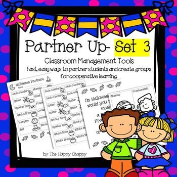 Partner Up Bundle Set 3 Classroom Management