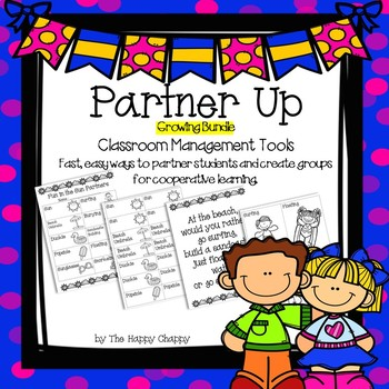 Partner Up Bundle Classroom Management