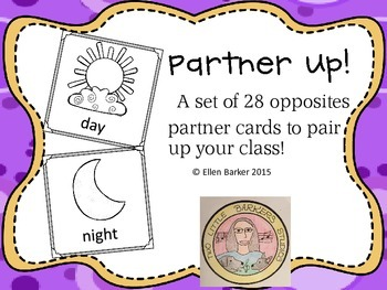 Partner Up! Partner choosing cards