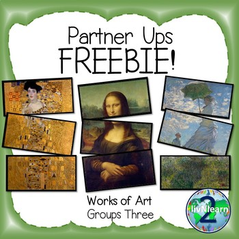 Partner Ups! Works of Art FREEBIE!