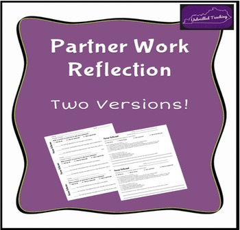 Partner Work Reflection