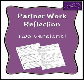 Partner Work Reflection