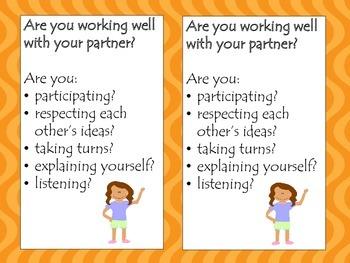 Partner Work Reminder