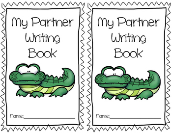 Partner Writing Book