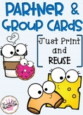 Partner and Group Cards