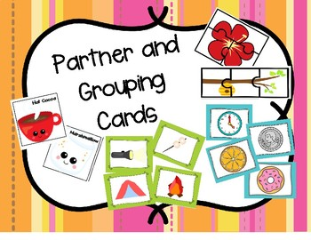 Partner Cards and Small Group Cards