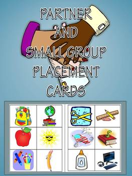 Partner and Small Group Random Placement Cards