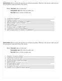 Partner interviews using reflexive verbs