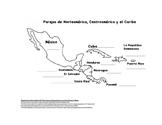 Partner maps Spanish speaking countries of Latin America