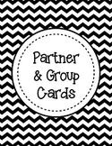 **FREEBIE** Partner or Group Cards