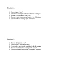 Partner speaking activity Realidades 1 Ch. 4B