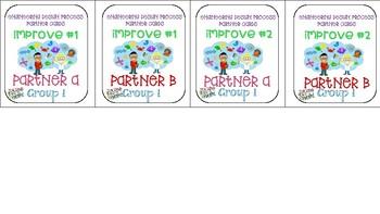 Partnering Cards-Engineering Design Process