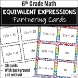 Partnering Cards Using Equivalent Expressions