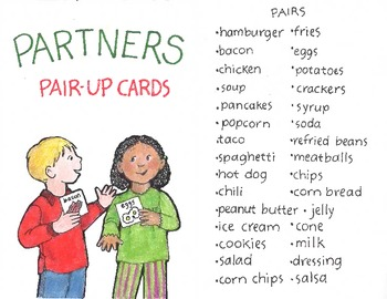 Classroom Management- Partners Pair-Up Cards!