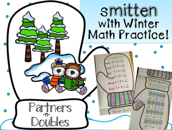 Partners and Doubles Winter Break Math Practice