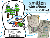 Partners and Doubles Winter Break Math Practice