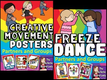Partners and Groups Freeze Dance and Creative Movement