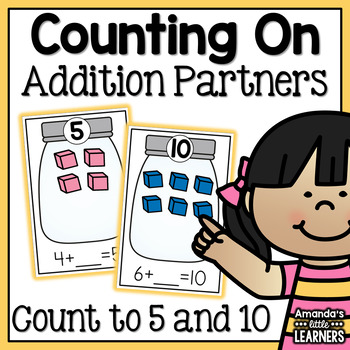 Counting On - Addition Game with Manipulatives