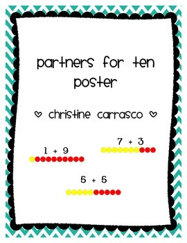 Partners for Ten Poster
